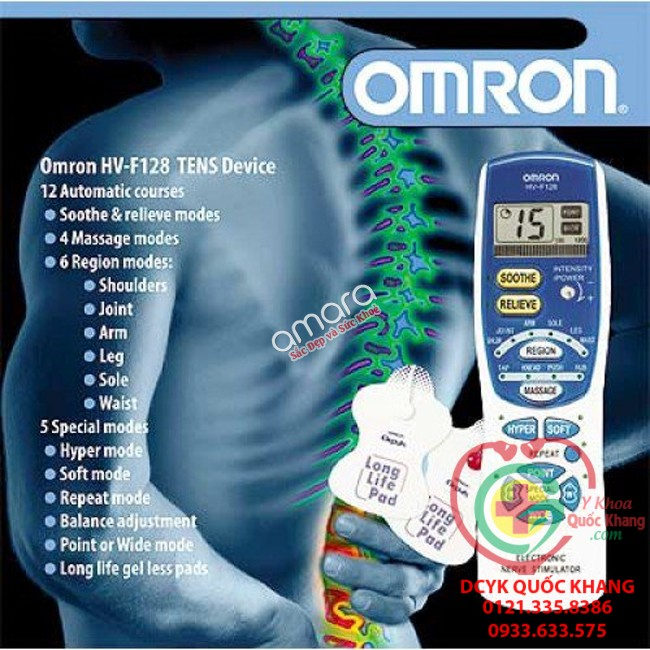 may massage xung dien omron hv f128 1